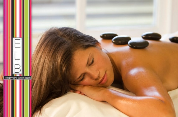Hot stone massage and facial – save 73%