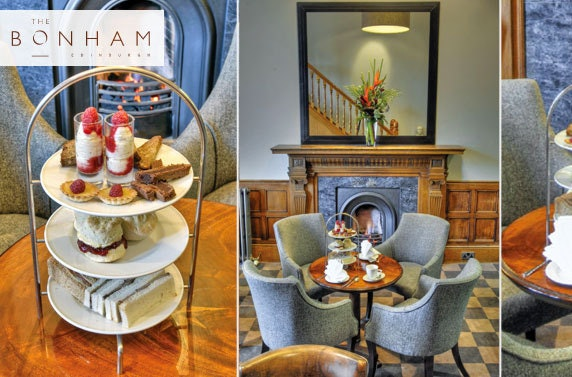 Bonham Spring Afternoon Tea with Prosecco