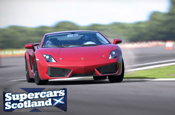 Supercar Driving Across Scotland Messages Itison