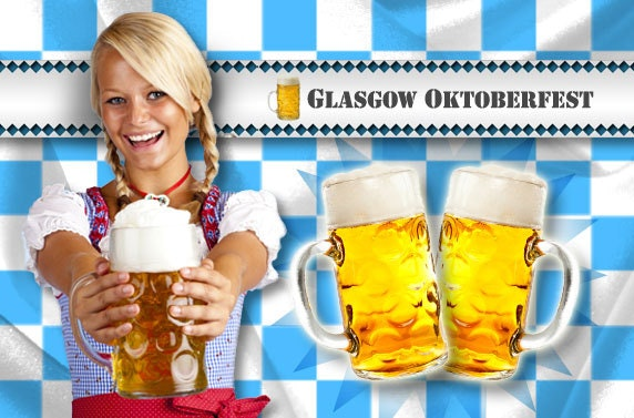 Oktoberfest Tickets, Glasgow Green