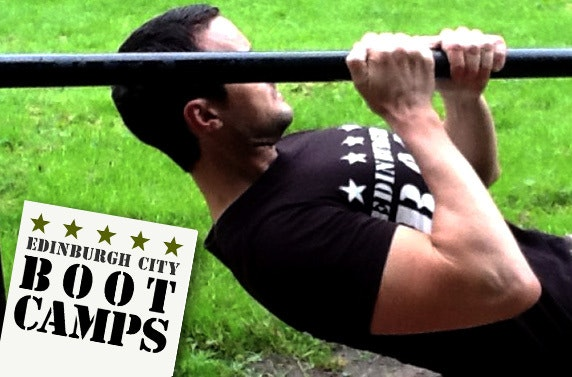 Military Style Fitness with Edinburgh City Boot Camps