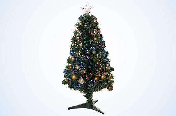 3ft Fibre Optic Christmas Trees 5 Styles