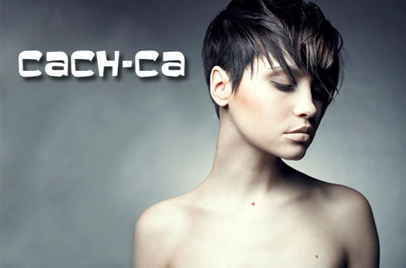 Hair makeover at Cach-Ca Hair