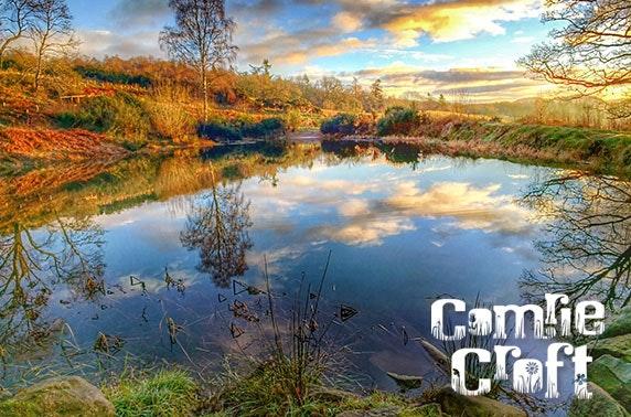 Tipi Tents @ Comrie Croft - £5 pppn