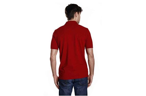 8b0611e68 Hugo Boss Men's Polo Shirt in Deep Red – itison