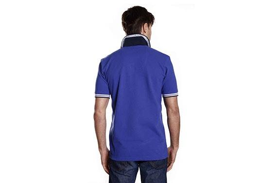 7185dbec3 Hugo Boss Men's Polo Shirt in Blue – itison