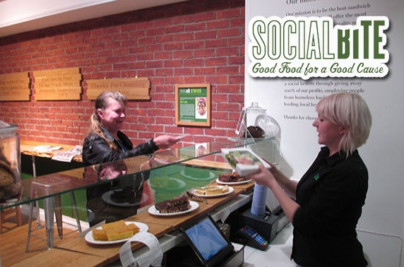 Buy a homeless person lunch @ Social Bite