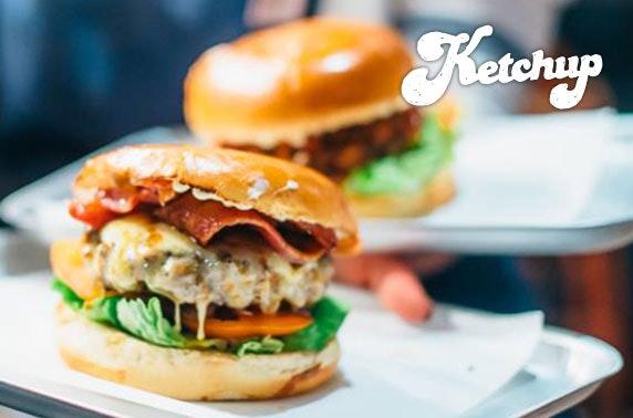 Ketchup burgers, Ashton Lane