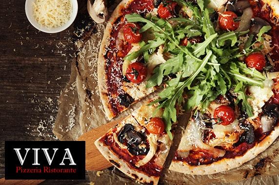 Viva Ristorante pizza or pasta - £10