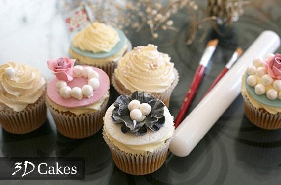 3d Cakes Cupcake Decorating Class Itison