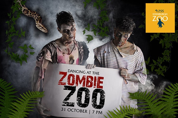 Dancing at the Zombie Zoo; exclusive itison Halloween event