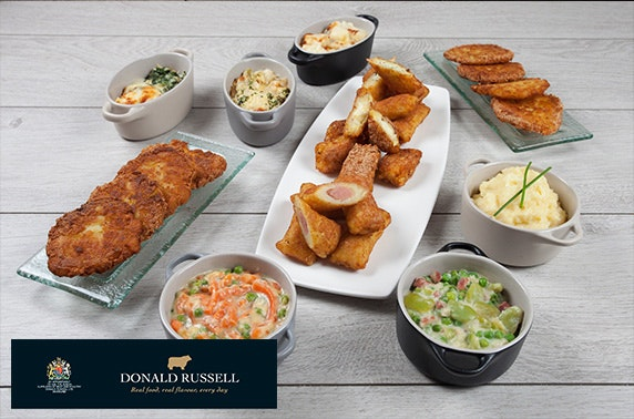Award-winning butcher Donald Russell online voucher
