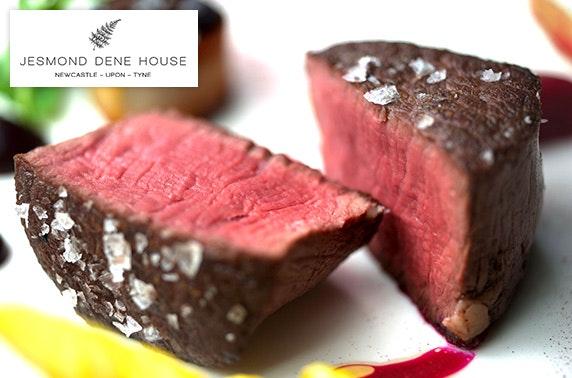 Jesmond Dene House romantic foodie getaway