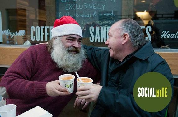 Buy a homeless person Xmas dinner @ Social Bite