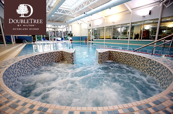 4* Doubletree by Hilton Dunblane Hydro pamper day