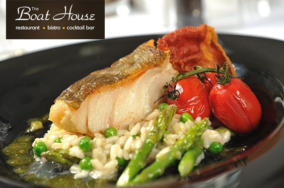 The Boat House dining, South Queensferry