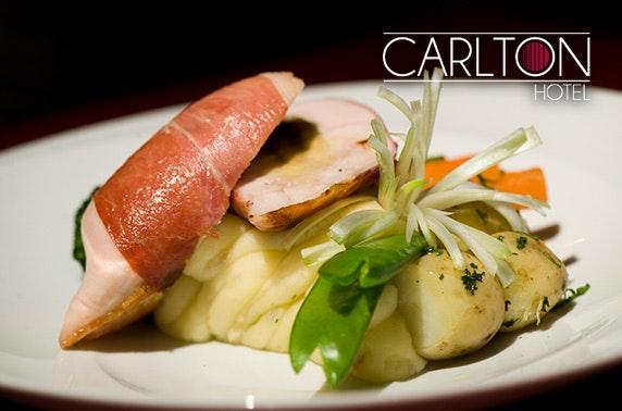 Carlton Hotel DBB, Prestwick - £69