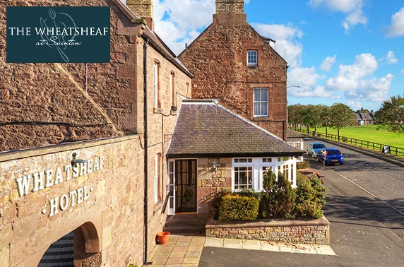 4* The Wheatsheaf stay, Borders - valid 7 days