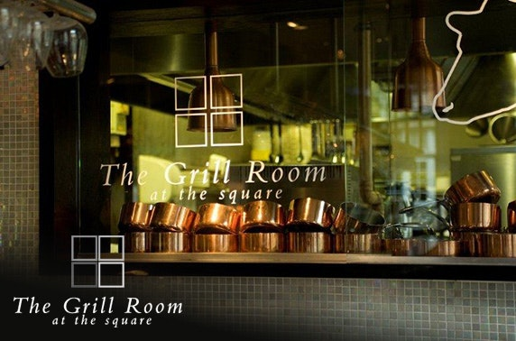 The Grill Room at the Square steaks & wine