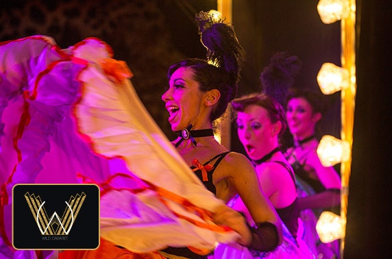 Wild Cabaret show & dinner, Merchant City