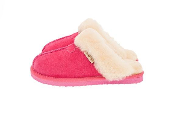 aaffd420b6e6 Ladies Pink Sheepskin Slippers – itison