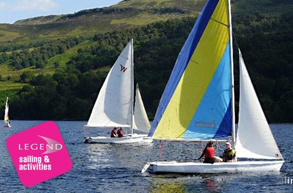 Private sailing lesson, Loch Tay