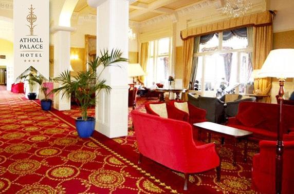 4* Atholl Palace Hotel afternoon tea