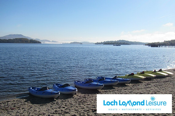 Loch Lomond Leisure kayaking, Rowardennan