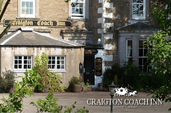 The Craigton Coach Inn dining, Broughty Ferry