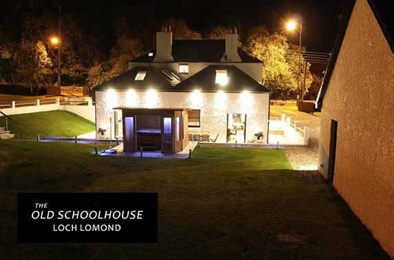 Loch Lomond group getaway – from £14pppn