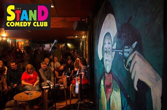 deals for comedy club glasgow
