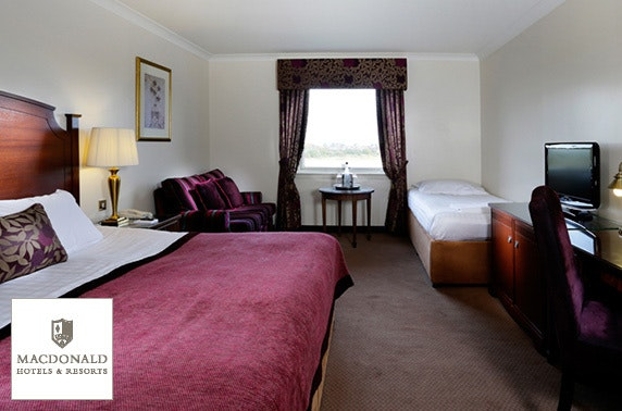 4* Macdonald Inchyra Hotel & Spa family stay