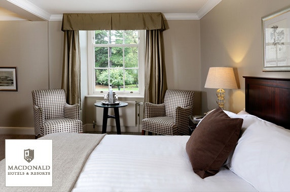 4* Macdonald Linden Hall stay, Northumberland