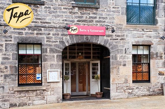 Tapa Edinburgh Dining Itison