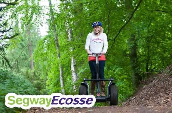 Segway woodland tour, Perthshire