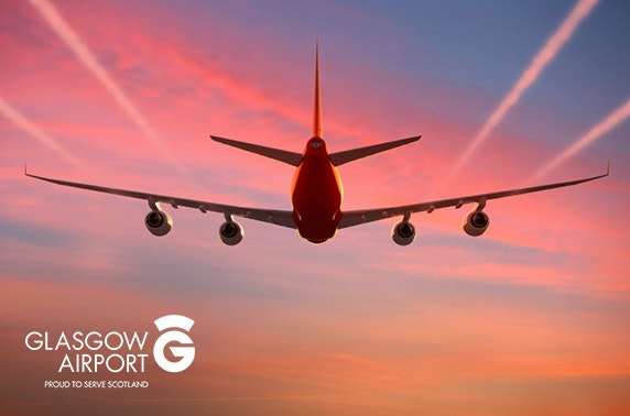 Glasgow Airport parking – from £2.25 per day