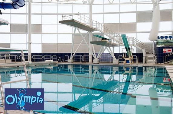 Olympia family swimming