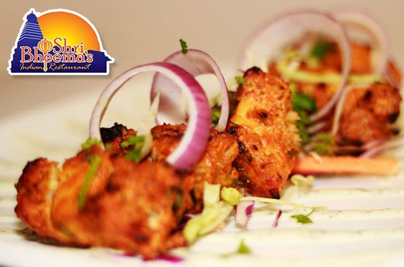 Shri Bheema's Indian dining – from £3.50pp