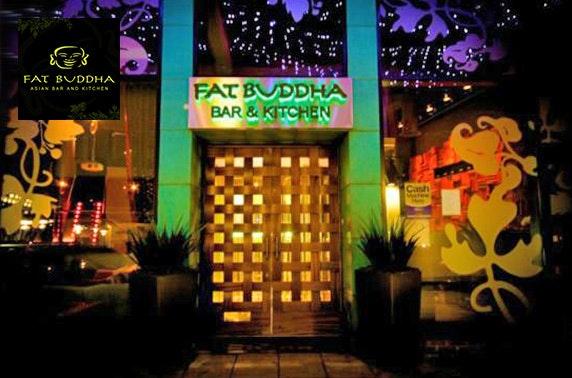 Fat Buddha Durham sharing platter & cocktails