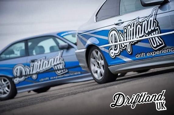 Driftland car racing day