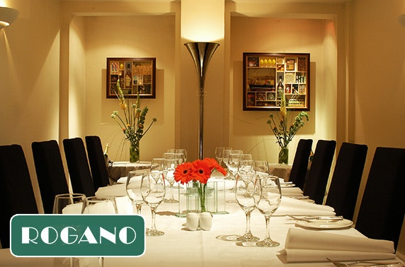 Rogano private dining – less than £37pp