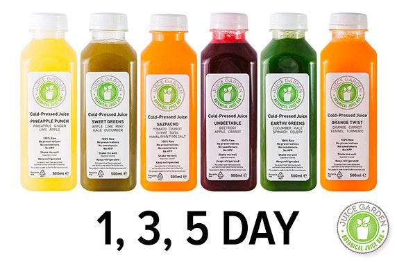 Juice Garden Detoxing Cleanse