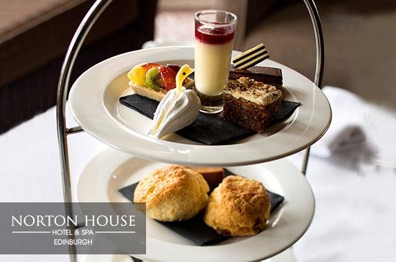 4* Norton House Hotel & Spa, Prosecco afternoon tea