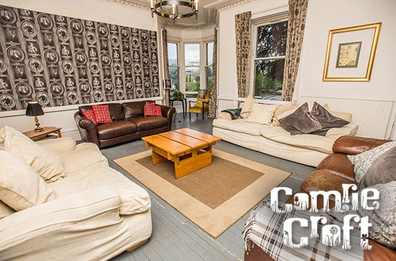 4* hostel exclusive use for 46 people - under £9pppn