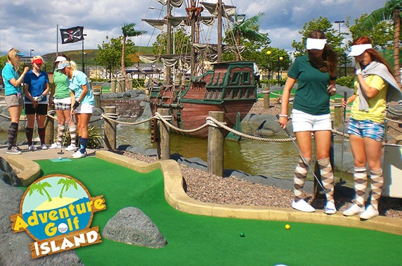 Adventure Golf Island – from £4pp