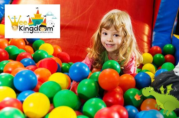 Wee Kingdom indoor soft play