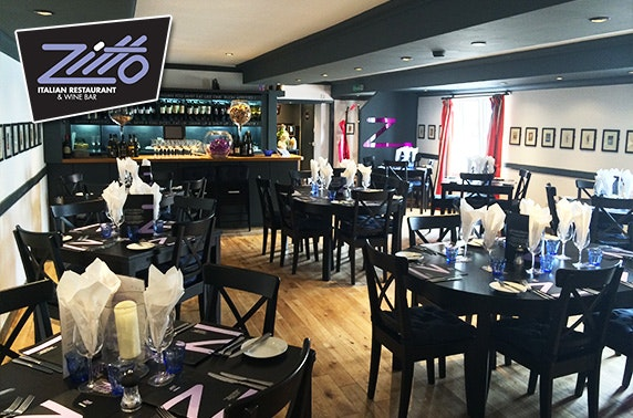 Zitto Italian lunch, North Berwick