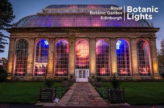 Botanic Lights Tickets Royal Botanic Garden Edinburgh Messages Itison
