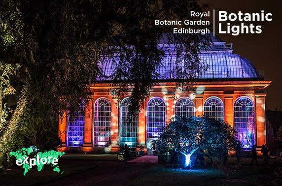Botanic Lights Tickets, Royal Botanic Garden Edinburgh
