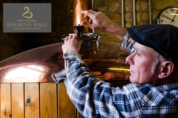 4* Beamish Hall Hotel stay & brewery tour